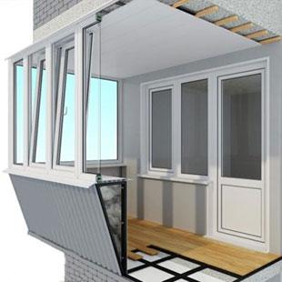 вынос балконо